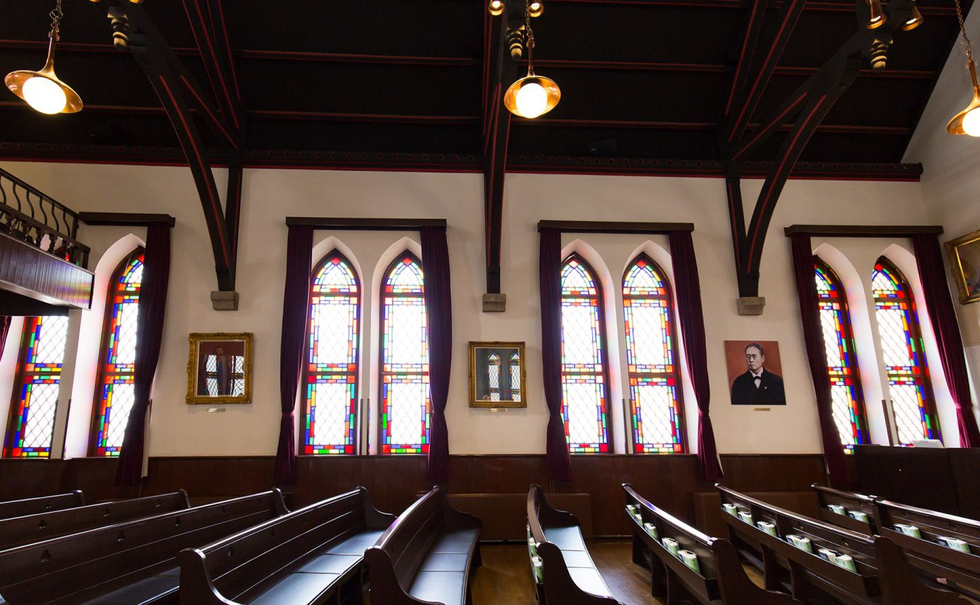 同志社礼拝堂の写真
